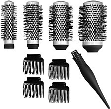 Parfémy, Parfumerie, kosmetika Sada - Lussoni Waves To Go (brush/4ps + hairclip/4ps)