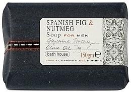 Parfémy, Parfumerie, kosmetika Bath House Spanish Fig and Nutmeg - Parfémované mýdlo