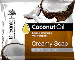 Parfémy, Parfumerie, kosmetika Krémové pleťové mýdlo s kokosovým olejem - Dr.Sante Cream Soap