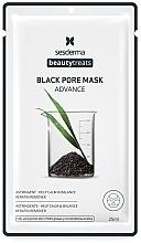 Parfémy, Parfumerie, kosmetika Černá maska - SesDerma Laboratories Beauty Treats Black Pore Mask