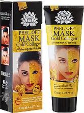 Parfémy, Parfumerie, kosmetika Maska na obličej proti stárnutí se zlatem - Pilaten Anti Aging 24K Gold Collagen Peel Off Face Mask