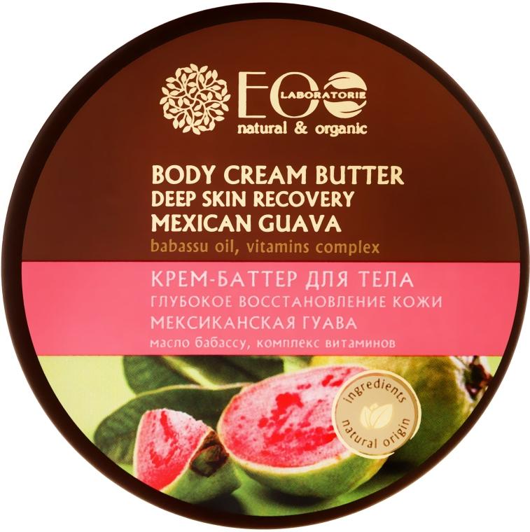 Krém butter na tělo Hluboká obnova kůže - ECO Laboratorie Natural & Organic