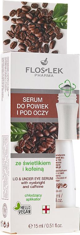 Sérum pro oční víčka a kolem očí se světlíkem a kofeinem - Floslek Eye Care Serum