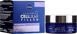 Parfémy, Parfumerie, kosmetika Anti-age noční krém na obličej - Nivea Hyaluron Cellular Filler Night Cream