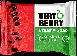 Parfémy, Parfumerie, kosmetika Krémové mýdlo - Very Berry Watermelon & Shea Butter