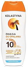 Parfémy, Parfumerie, kosmetika Ochranná emulze pro opalování SPF10 - Kolastyna