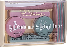 Parfémy, Parfumerie, kosmetika Sada - P.Shine (n/paste/8g + n/puder/5g + n/pol/5pcs + n/file/1pcs + n/acc/1pcs)