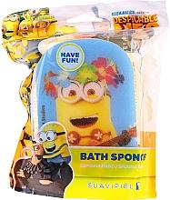 "Parfémy, Parfumerie, kosmetika Dětská houba do koupele ""Minions,Kevin žlutá - Suavipiel Minnioins Bath Sponge"