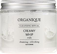 "Parfémy, Parfumerie, kosmetika Pěna na tělo ""Milk"" - Organique Cleansing Ritual Creamy Whip Milk"