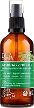 Parfémy, Parfumerie, kosmetika Kondicionér s jablečným octem a bylinkami na mastné vlasy - DLA