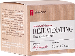Parfémy, Parfumerie, kosmetika Krém pro suchou a citlivou pokožku - Phenome Sustainable Science Rejuvenating Line Minimizer