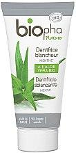 Parfémy, Parfumerie, kosmetika Bělicí zubní pasta s mentolem - Biopha Nature Toothpaste Menthe