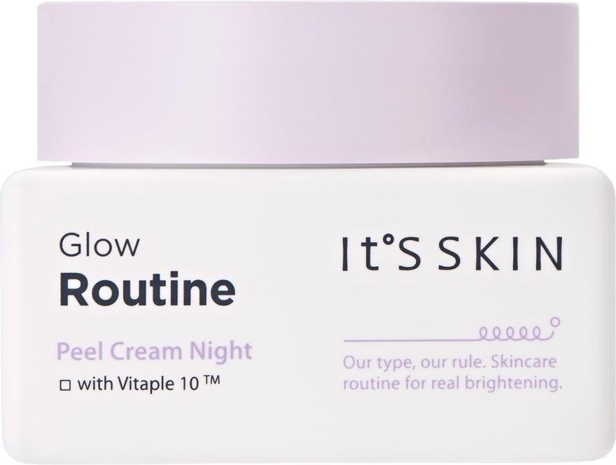 Noční krém na obličej - It's Skin Glow Routine Peel Cream Night — foto N1