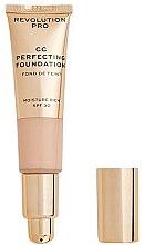 Parfémy, Parfumerie, kosmetika CC krém - Revolution Pro CC Cream Perfecting Foundation SPF 30