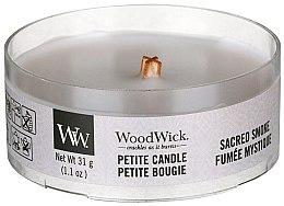 Parfémy, Parfumerie, kosmetika Vonná svíčka ve sklenici - Woodwick Petite Candle Wood Smoke