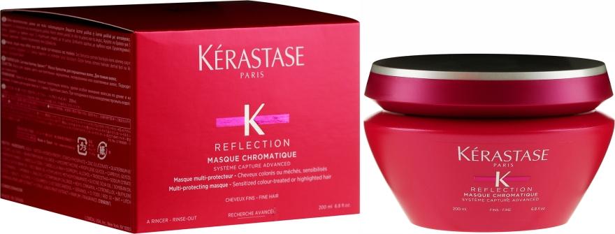 Maska pro ochranu barvy jemných barvených vlasů - Kerastase Reflection Masque Chromatique Fine Hair — foto N1