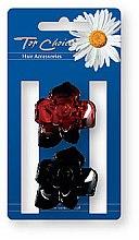 Parfémy, Parfumerie, kosmetika Skřipec do vlasů Květiny, 2 ks - Top Choice