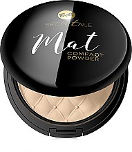 Parfémy, Parfumerie, kosmetika Kompaktní matný pudr - Bell Secretale Mat Compact Powder