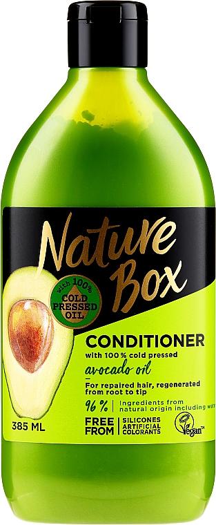 Kondicionér na vlasy s avocadovým olejem - Nature Box Avocado Oil Conditioner