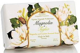Parfémy, Parfumerie, kosmetika Prírodní mýdlo Magnolie a lípa - Saponificio Artigianale Fiorentino Magnolia&Linden Soap