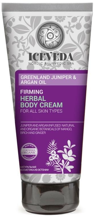 Tělový krém - Iceveda Greenland Juniper&Argan Oil Firming Body Cream — foto N1