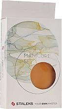 """Sada na manikúru """"Multi"""", MS-10, 6 dilná, oranžová - Staleks Manicure Set — foto N2"""