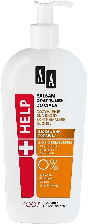 Tělový balzám výživný - AA Help Body Balm