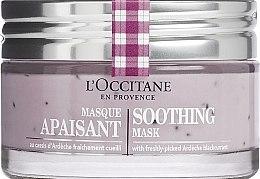 Parfémy, Parfumerie, kosmetika Zklidňující obličejová maska - L'Occitane Soothing Mask