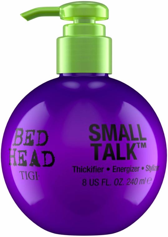 Krém pro objem a zhutnění vlasů - Tigi Bed Head Small Talk 3-in-1 Thickifier