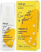Parfémy, Parfumerie, kosmetika Regenerační pleťový krém s vitamínem C - Kili·g Woman Vitamin C Regenerating Cream