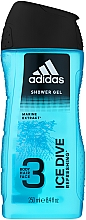 Parfémy, Parfumerie, kosmetika Sprchový gel - Adidas Ice Dive Body, Hair and Face Shower Gel