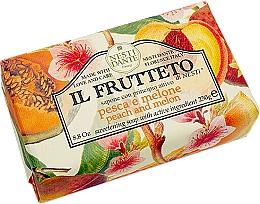 """Parfémy, Parfumerie, kosmetika Mýdlo """"Broskev a dýně"""" - Nesti Dante Il Frutteto Soap"""