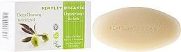 """Parfémy, Parfumerie, kosmetika Mýdlo """"Hluboké čištění"""" - Bentley Organic Body Care Deep Cleansing Soap Bar"""