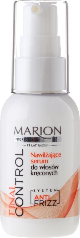 Hydratační sérum pro kudrnaté vlasy - Marion Professional Final Control