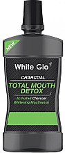 Parfémy, Parfumerie, kosmetika Ústní voda - White Glo Charcoal Total Mouth Detox Mouthwash