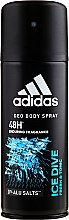 Parfémy, Parfumerie, kosmetika Adidas Ice Dive - Deodorant