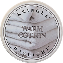 Parfémy, Parfumerie, kosmetika Čajová svíčka - Kringle Candle Warm Cotton