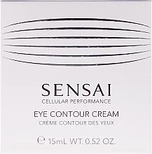 Parfémy, Parfumerie, kosmetika Obnovující krém s efektem anti-age na kontury oči - Kanebo Sensai Cellular Performance Eye Contour Cream
