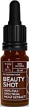 Parfémy, Parfumerie, kosmetika Regenerační pleťové sérum - You & Oil Beauty Shot Hemp Extract