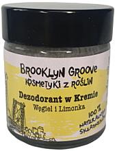 Parfémy, Parfumerie, kosmetika Deodorant-krém s vůní limetky a pomeranče - Brooklyn Groove Deodorant Cream