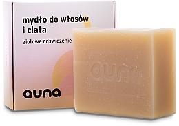 Parfémy, Parfumerie, kosmetika Mýdlo na vlasy a tělo - Auna Hair And Body Soap