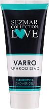 Parfémy, Parfumerie, kosmetika Sprchový gel 2v1 na vlasy a tělo - Hrisnina Cosmetics Sezmar Collection Love Varro Aphrodisiac Hair & Body Shower Gel