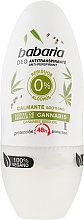 Parfémy, Parfumerie, kosmetika Kuličkový dedorant s konopím - Babaria Cannabis Deodorant Roll-on