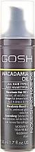 Parfémy, Parfumerie, kosmetika Vlasový olej - Gosh Macadamia Oil
