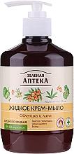 Parfémy, Parfumerie, kosmetika Krémové tekuté mýdlo Rakytník a lípa - Green Pharmacy