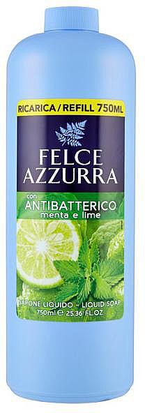 Tekuté mýdlo - Felce Azzurra Antibacterial Mint & Lime (náhradní náplň)