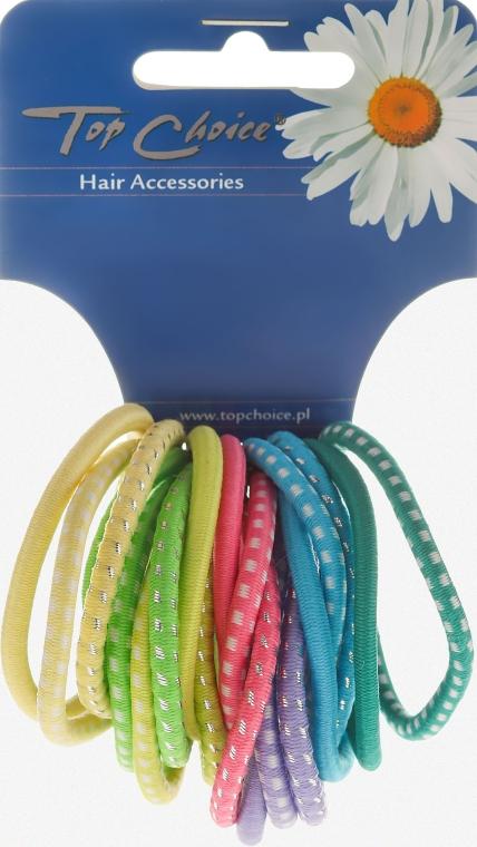 Gumičky do vlasů 20ks, barevný mix, 22159 - Top Choice — foto N1