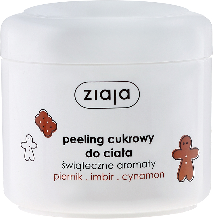 Tělový peeling Zázvor a skořice - Ziaja Ginger & Cinnamon Body Peeling