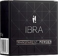 Parfémy, Parfumerie, kosmetika Sýpký pudr na obličej - Ibra Transparent Powder