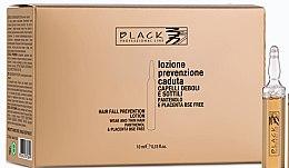 Parfémy, Parfumerie, kosmetika Lotion proti vypadávání vlasů s panthenolem a placentou - Black Professional Line Panthenol & Placenta Lotion